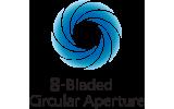 8-bladed-circular-aperture